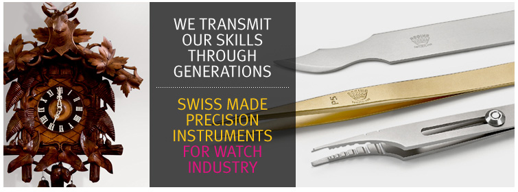 High Precision Swiss Tweezers - Watch Tweezers