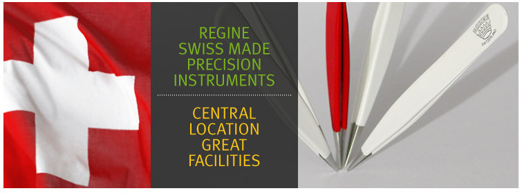High Precision Swiss Tweezers - Contact