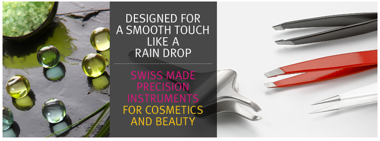 High Precision Swiss Tweezers - Cosmetics